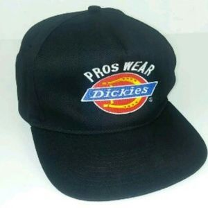 Dickies Pro Wear Snapback Black Trucker Hat